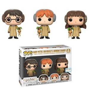 Herbology 3-Pack: Harry, Ron, Hermione